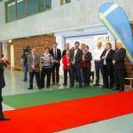 Offizielle Neueröffnung der Jahnsporthalle     Foto: Silke Braun