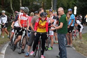 14. VBH Einzelzeitfahren am Scheibesee  mit 74 Teilnehmern  Foto:Werner Müller