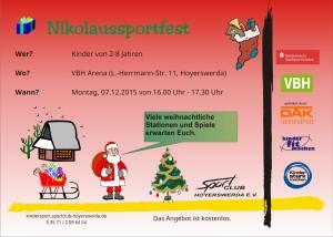 Flyer-Nikolaussportfest
