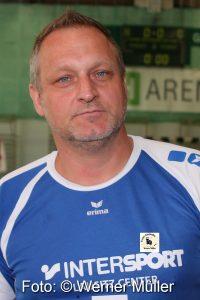 2016-05-21 Michael Schuller Trainer Handballfrauen des SC Hoyerswerda I in der mitteldeutschen Oberliga Frauen Foto: Werner Müller